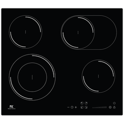 Ugradbena staklokeramička ploča za kuhanje, 6600W