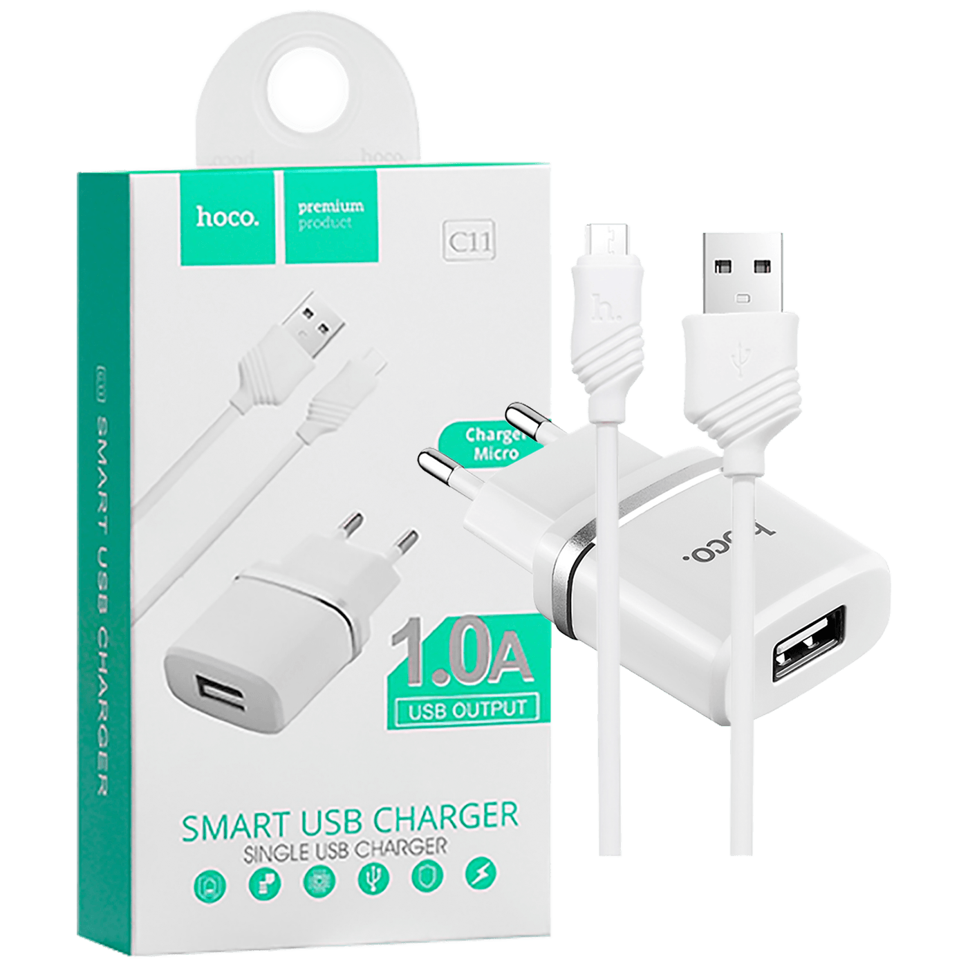 hoco. - C11 Smart single USB, micro USB