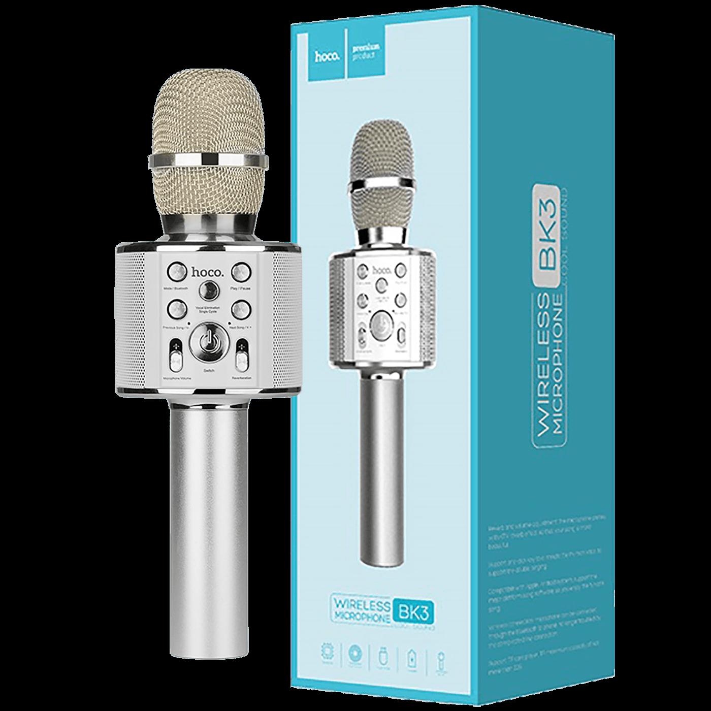 Mikrofon, bežični, Karaoke, 1800mAh