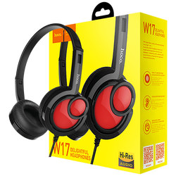 hoco. - W17 Delightful Headphones MIC BK