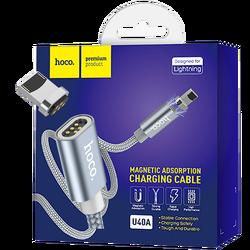 USB kabl za iPhone, metal magnetic, Lightning, 2.0 A