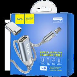 USB kabl za smartphone, metal magnetic, type C, 2.0 A