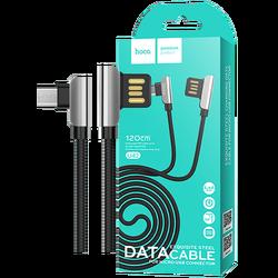 hoco. - U42 Exquisite steel, Micro USB, BK