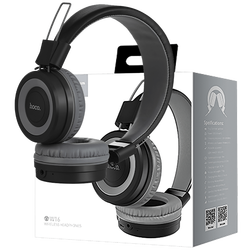 Slušalice bežične / žične, Bluetooth/ 3.5 mm, siva