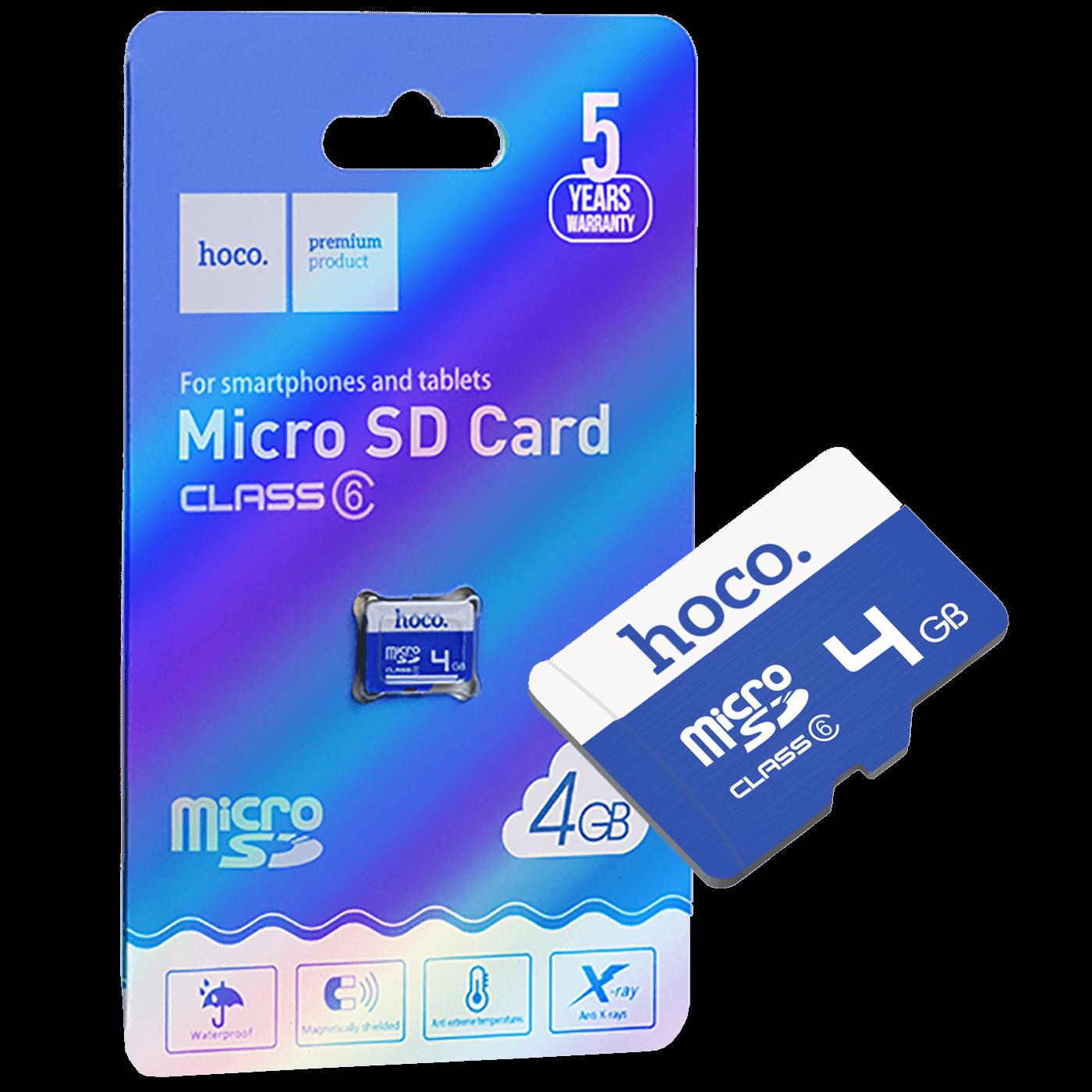 MicroSD 4GB Class6 (90359)