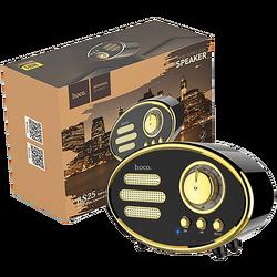Zvučnik bežični, Bluetooth,retro, 1200 mAh, 5 h, 5 W, crna