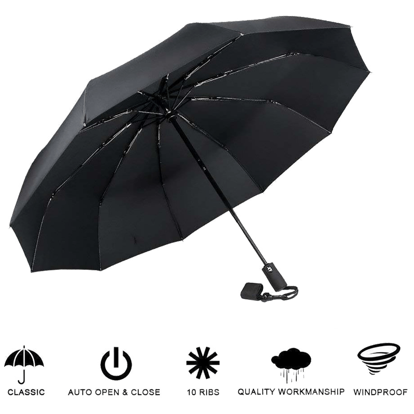 Kišobran sa automatskim otvaranjem i zatvaranjem