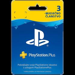 Članska kartica, 3 mjeseci,  PlayStation Plus 365