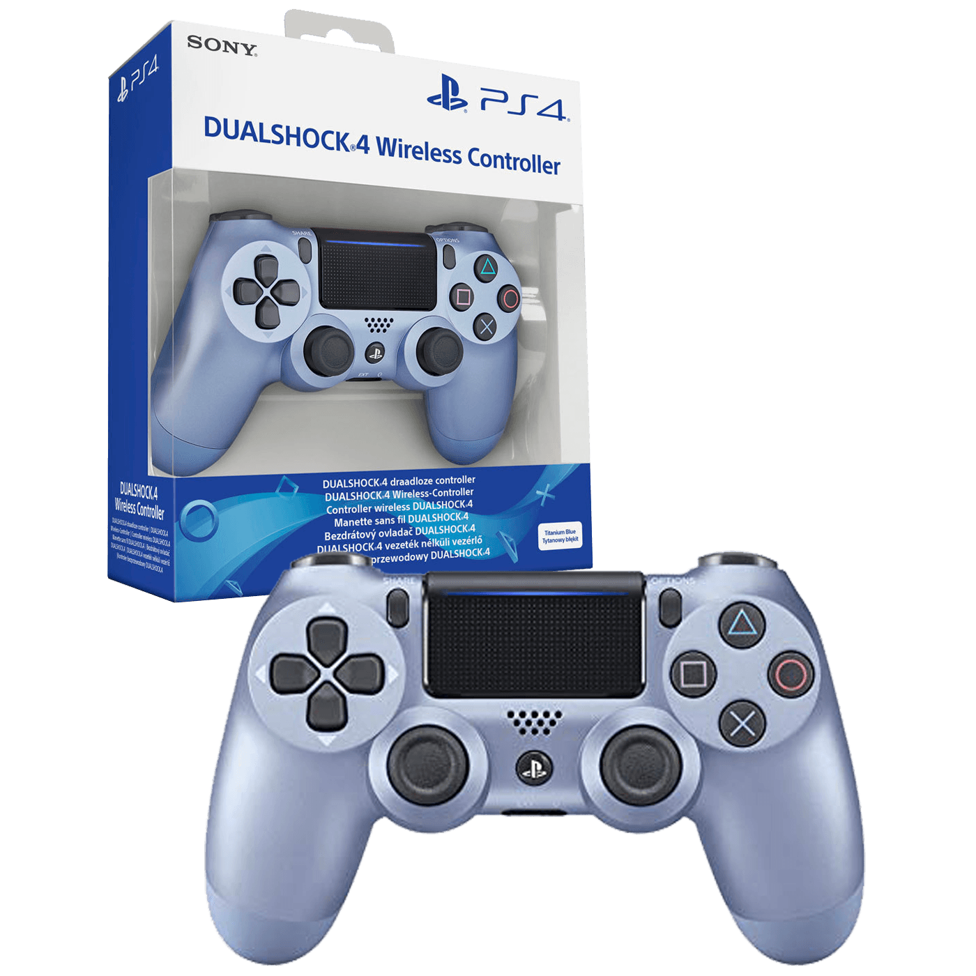 Sony - PS4 Dualshock Controller Tit.Blue