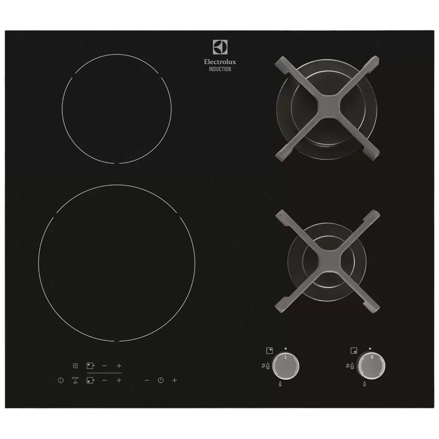Ugradbena indukcijska kombinirana ploča za kuhanje
