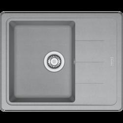 Sudoper ugradbeni, 620x500, kameno siva