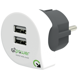 q2power - DUAL USB CHARGER EUROPE