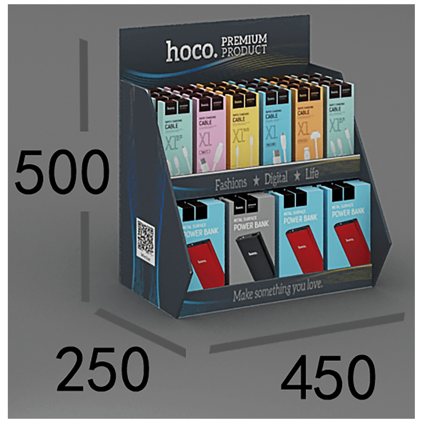 hoco. - Promotional desktop carton shelf3.0