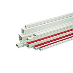 Kanalica PVC, samoljepljiva, 25x25mm, boja bijela