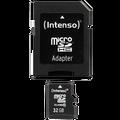 (Intenso) - BULK SDHCmicro+ad-32GB/Class10