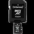 (Intenso) - BULK SDXCmicro+ad-64GB/Class10