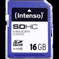 (Intenso) - BULK SDHC-16GB/Class10 BU