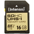 (Intenso) - BULK UHS-I/SDHC-16GB/Class10
