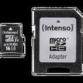 (Intenso) - BULK MicroSD 16GB Class10 UHS-I Pro