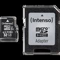 (Intenso) - BULK MicroSD 32GB Class10 UHS-I Pro