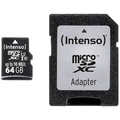 (Intenso) - BULK MicroSD 64GB Class10 UHS-I Pro