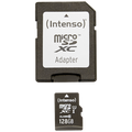 (Intenso) - BULK-Micro SD Card 128GB Class10 UH