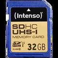 (Intenso) - BULK-UHS-I/SDHC-32GB/Class10