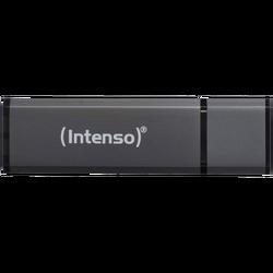(Intenso) - BULK USB2.0-64GB/Alu-a