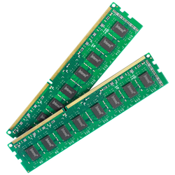 (Intenso) - BULK-DDR4 Desktop 2x4GB/2400MHz,Kit