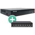 Amiko Home - NVR 36 / H.265 (4K) + 8PoE Switch
