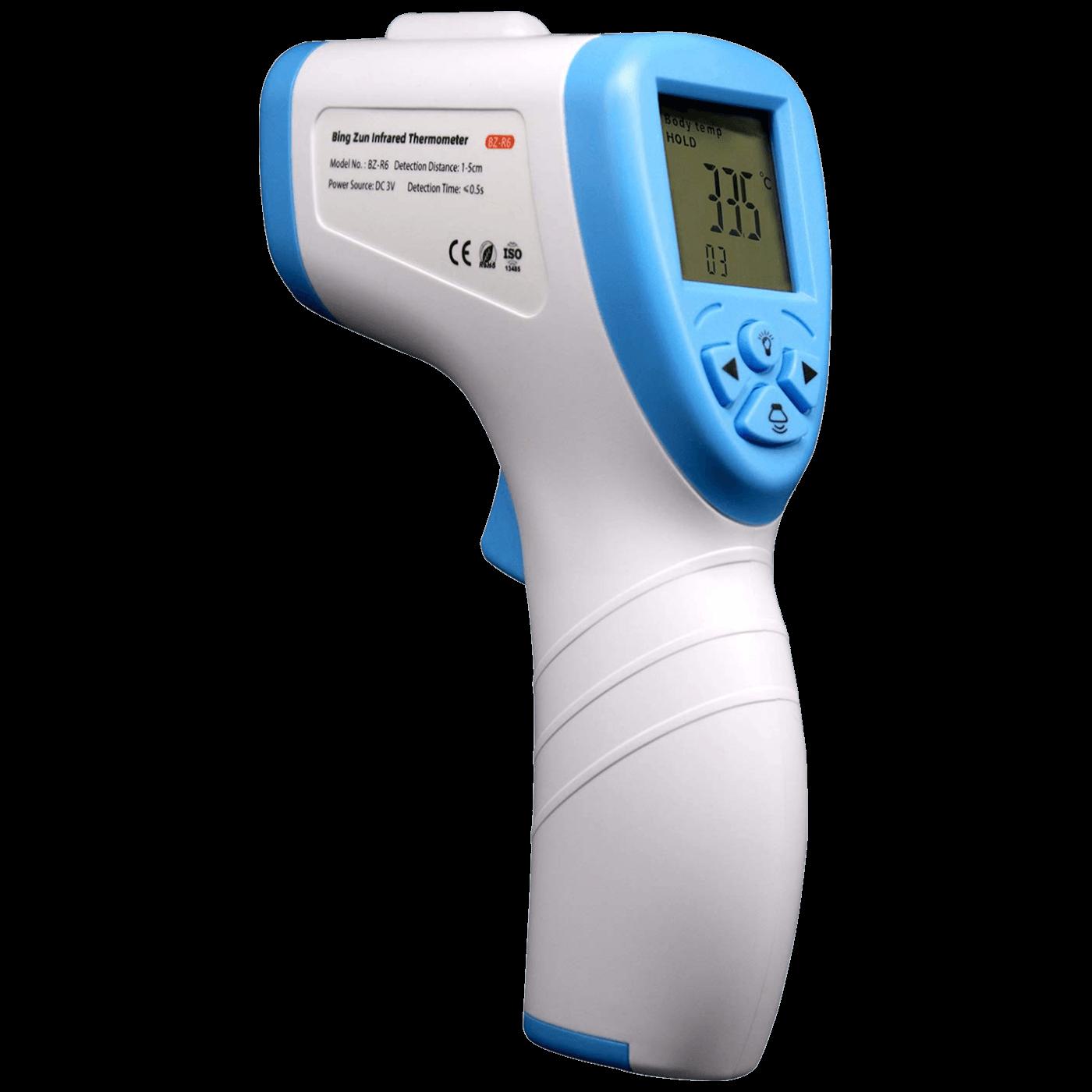 Bezkontakni termometar sa baterijom