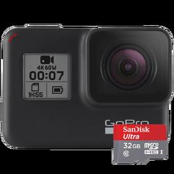 GoPro, akcijska kamera, HERO7 + microSD 32GB