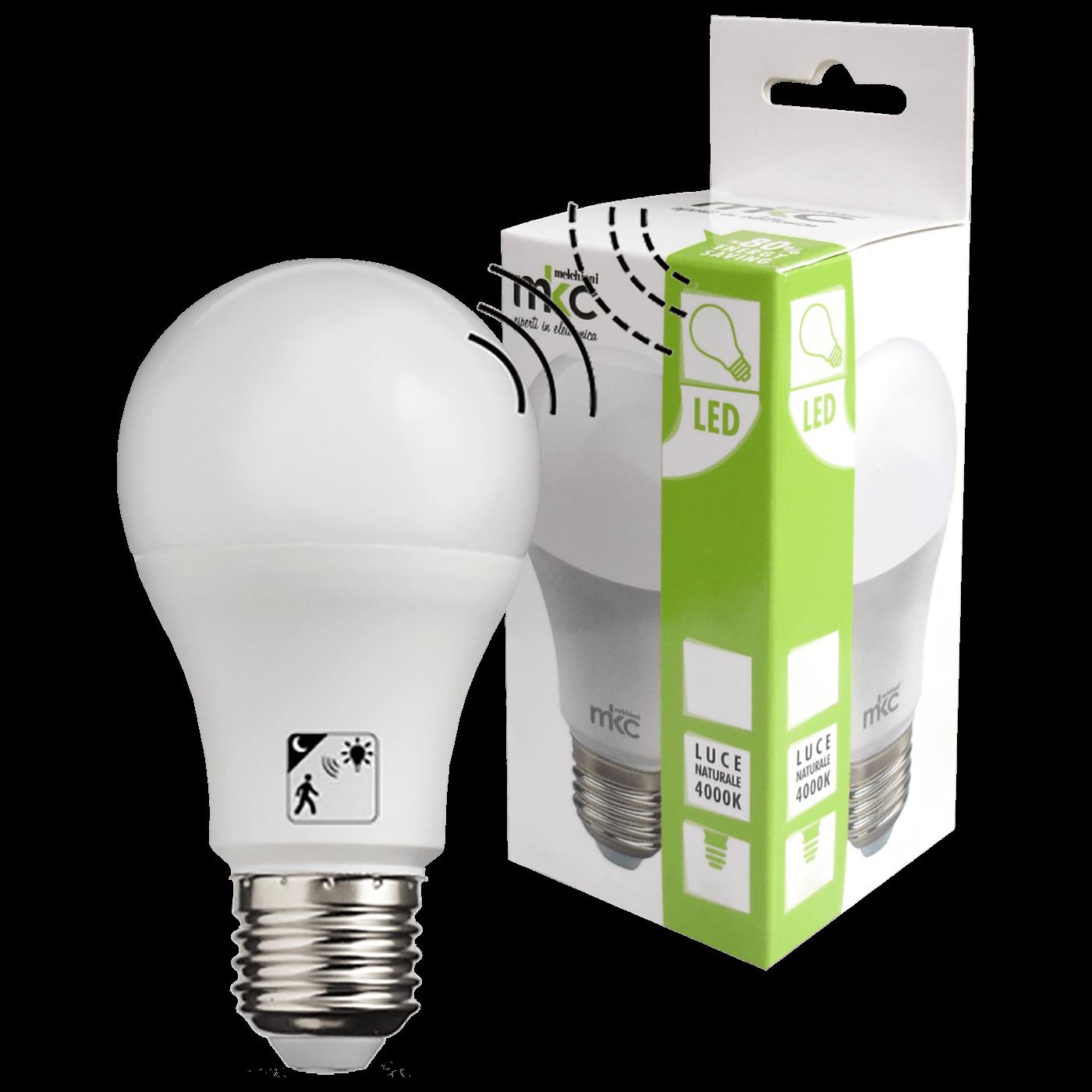 LED A60 E27 10W-N MOTION