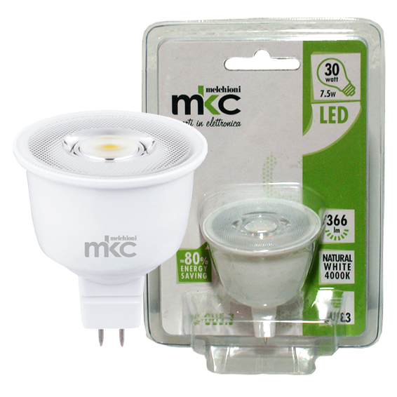 MKC - LED MR1638 GU5.3/7.5W-N
