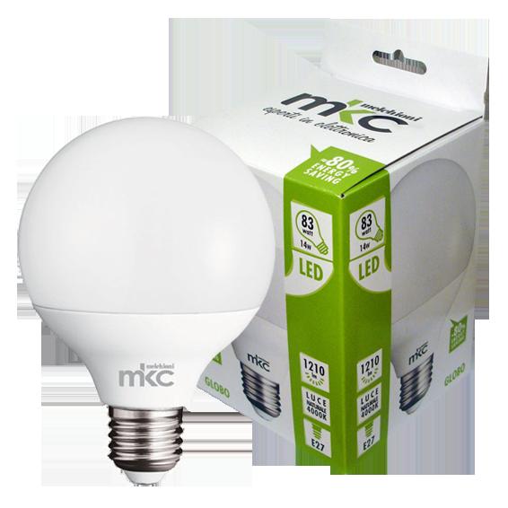 LED GLOBO E27/14W-N