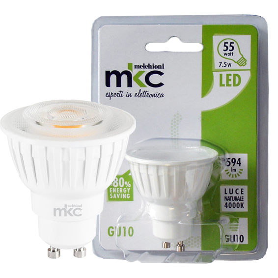MKC - LED MR-GU10/7.5W-N