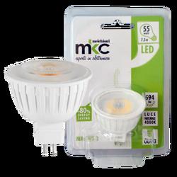 Sijalica, LED 7.5W, 4000K,12V DC, prirodno bijela svjetlost