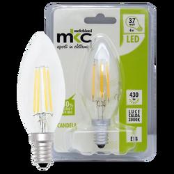 Sijalica,LED 4W, E14, 3000K,220V AC, toplo/bijela svjetlost