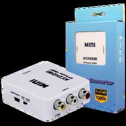 Video konverter CVBS+audio na HDMI, mini
