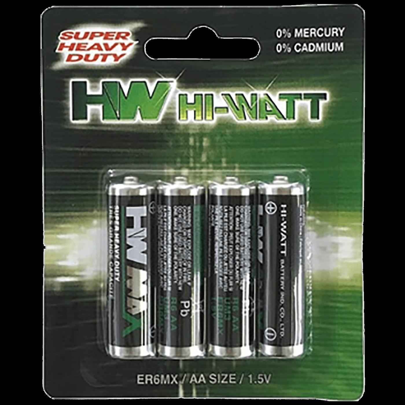 Baterija Zinc-Carbon AA/R6, 1,5V , pak.4 komada