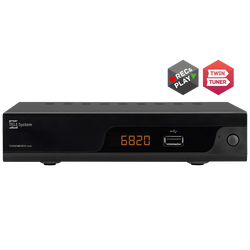 Prijemnik zemaljski, Twin DVB-T/T2, H.265/HEVC, HDMI,Scart