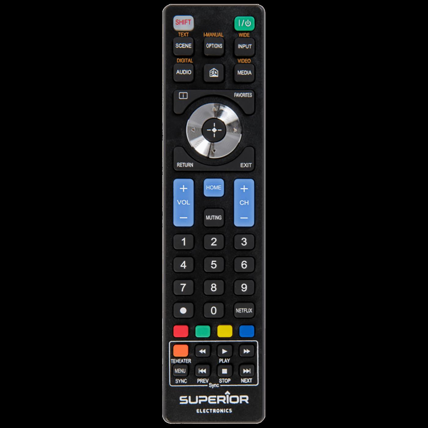 Daljinski upravljač za Sony TV prijemnike, White Edition