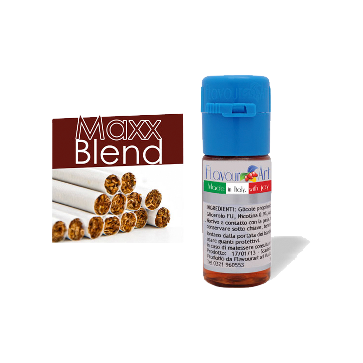 Tekućina za e-cigarete, Maxx Blend 18mg