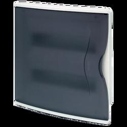 Kutija za osigurače podžbuk, 24 osigurača, providna, IP40