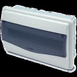 Kutija za osigurače podžbuk, 12/14 osigurača, providna, IP40