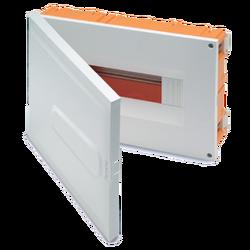Kutija za osigurače rigips, 12 osigurača, bijela, IP40