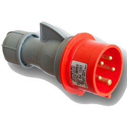 Utikač, 16A/380÷415, 5 Polni (3P+N+E), IP44