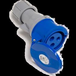 Utičnica spojka, 32A/220÷240, 3 Polna (2P+E), IP44