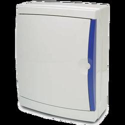 Kutija za osigurače nadžbuk, 26 osigurača, bijela, IP65