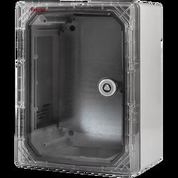 Zidni ormarić s transparentnim vratima, 280x210x130, IP65